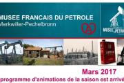 Programme musée du pétrole 2017