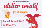 Atelier créatif. Fées et dragons